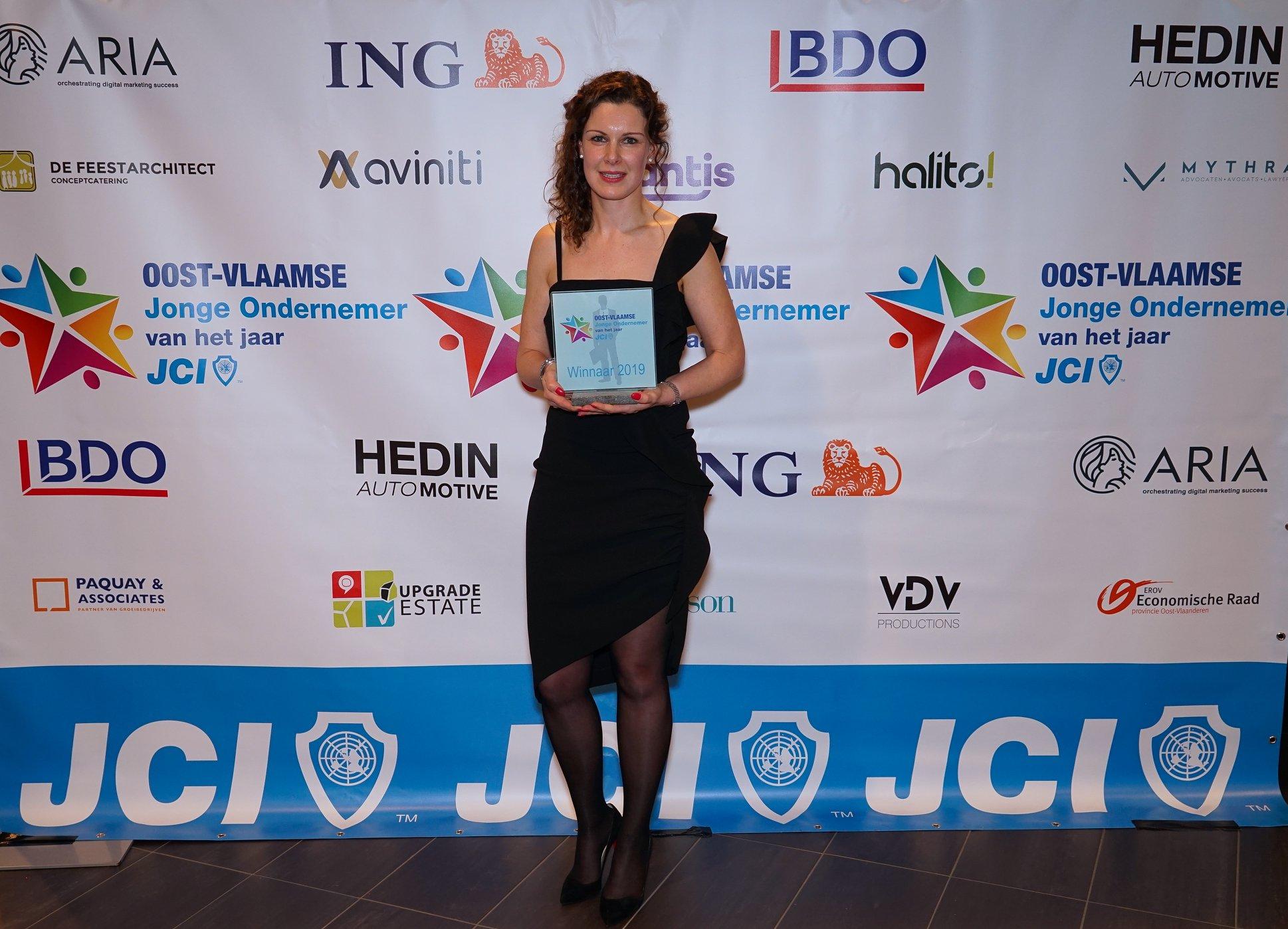 An Warrens: JCI jonge Oost-Vlaamse ondernemer van 2019